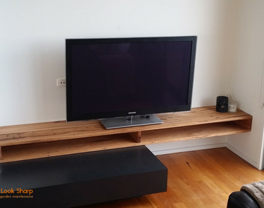 Recycled Messmate TV Unit