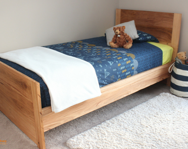 Recycled Messmate Bed Frame