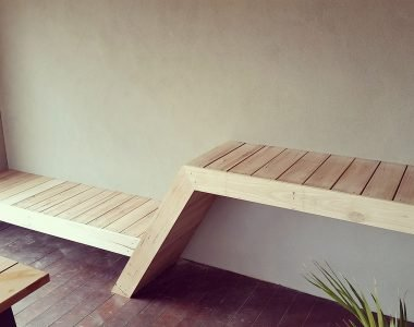 Outdoor bench and day bed